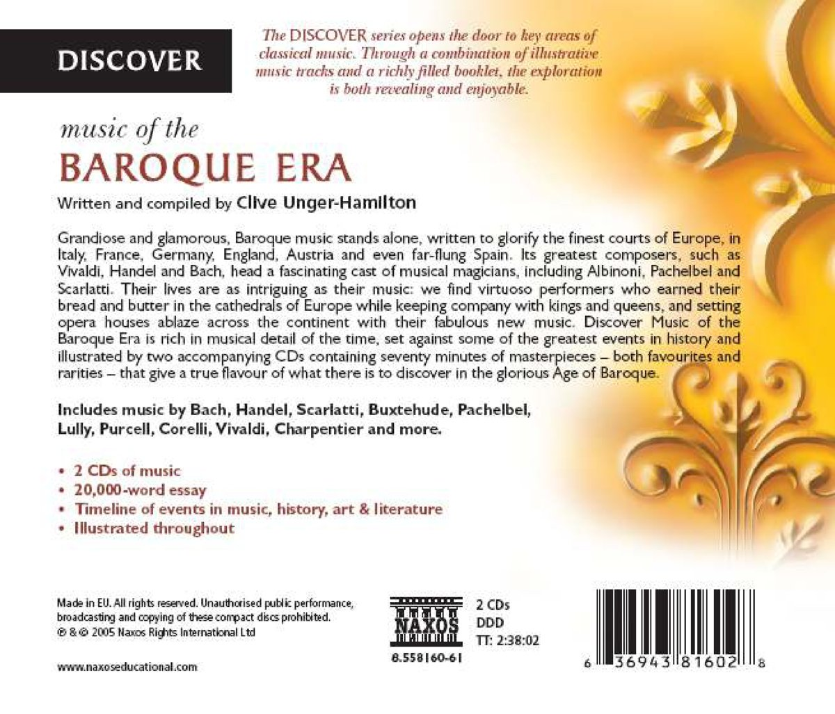various artists discover music of the baroque era com music