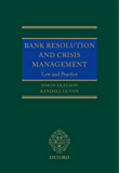 Bank Resolution and Crisis Management: Law and Practice