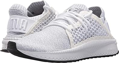 PUMA Men s Tsugi Netfit Evoknit Puma White Quarry Puma Black 7 D US fa9edeb79
