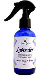 Lavender Essential Oil Room, Body and Linen Spray - Made with Pure Bulgarian Lavender Oil, Relax Your Body, Mind and Spirit - Perfect as a Bathroom Air Freshener and Pillow Mist