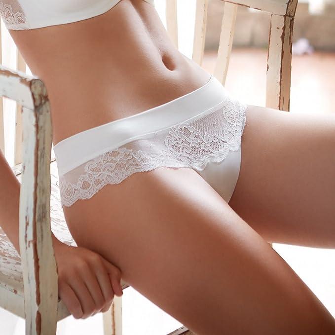 Selmark Culottes - para Mujer Marfil X-Large