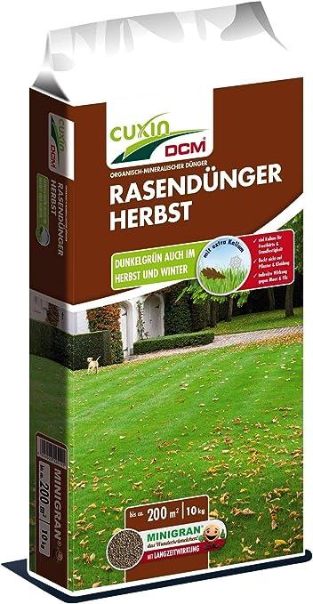 CUXIN DCM Rasend/ünger HERBST 3 kg Herbstrasend/ünger 60 m/²