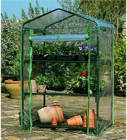 3 niveles Frío Marco Invernadero Mini Cajón vivero FUNDA PVC jardín exteriores plantas: Amazon.es: Coche y moto