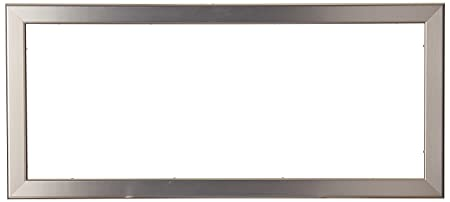 Arttoframes 10x25 Inch Chrome Stainless Steel Picture Frame