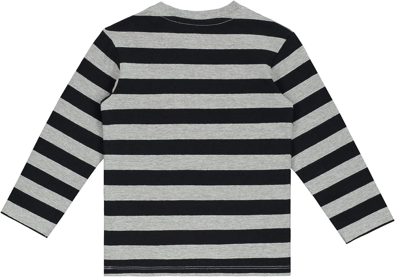 Pr/énatal T-Shirt pour Enfant Gris m/élang/é