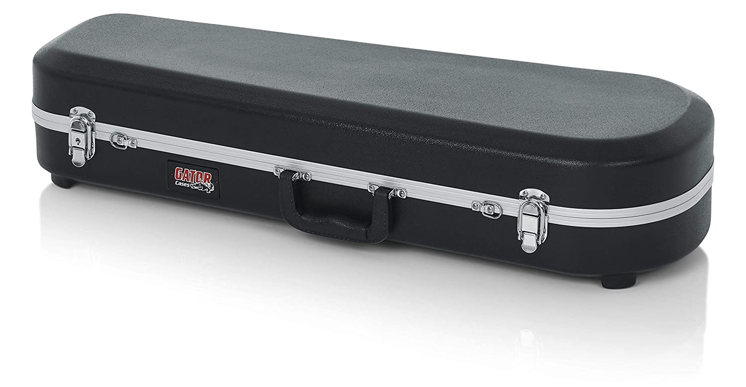 Gator Cases Lightweight Molded Trombone Case with Locking Latch and Plush Lined Interior (GC-TROMBONE) GCTROMBONE