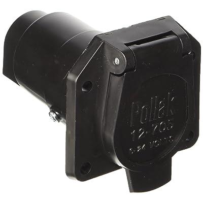 POLLAK 12-707 Plastic 7-Way Socket: Automotive