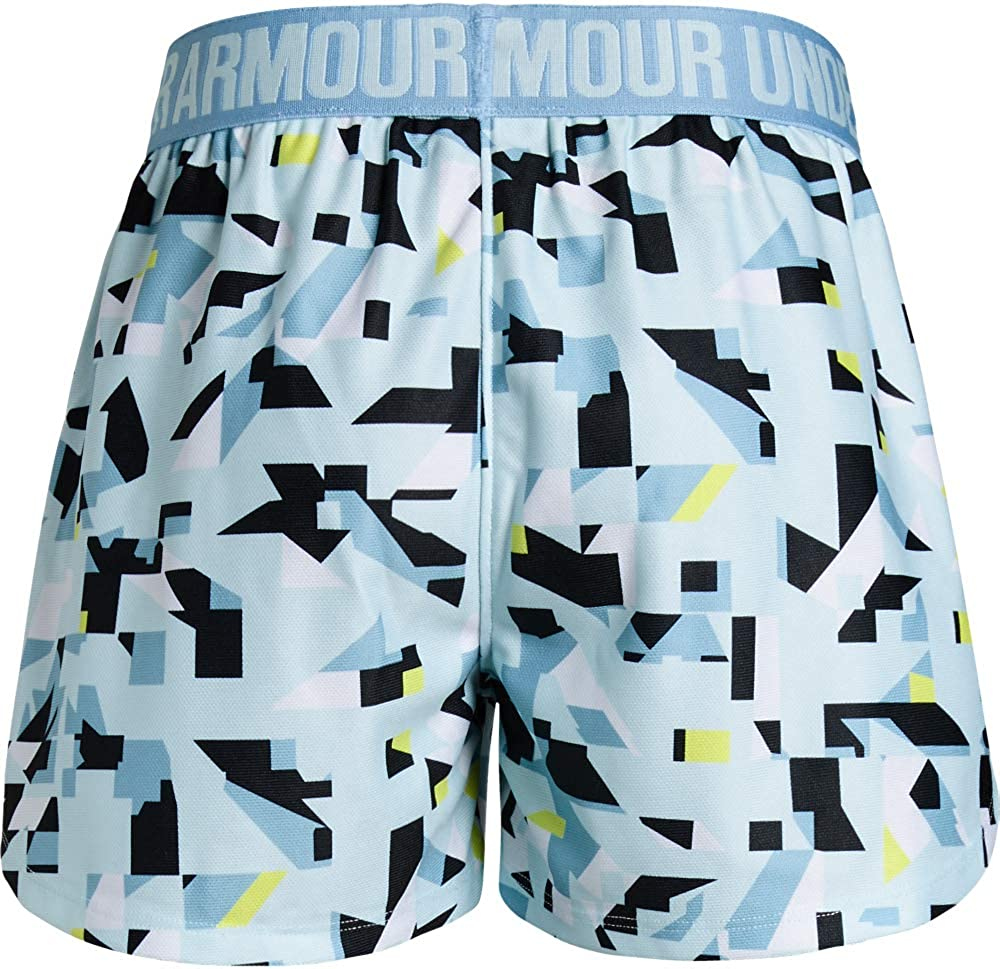 Under Armour Girls Play Up Printed Shorts