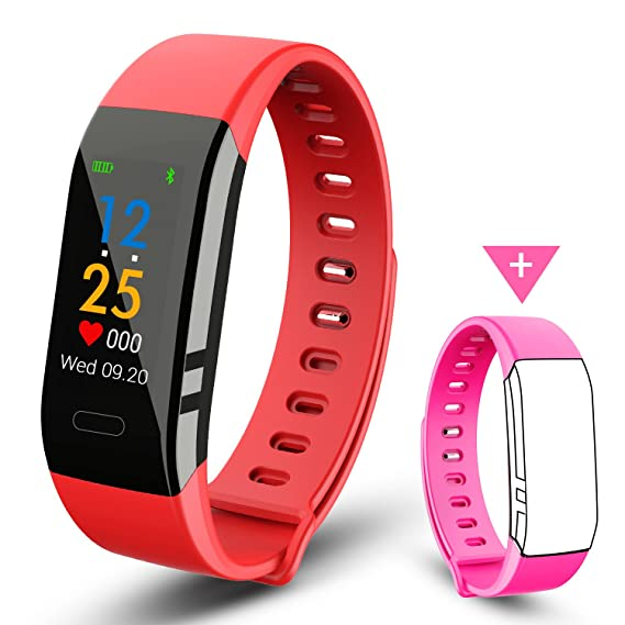 EJIKER Pulsera Actividad Impermeable IP67 Banda Deportiva Para IOS y Android: Amazon.es: Electrónica