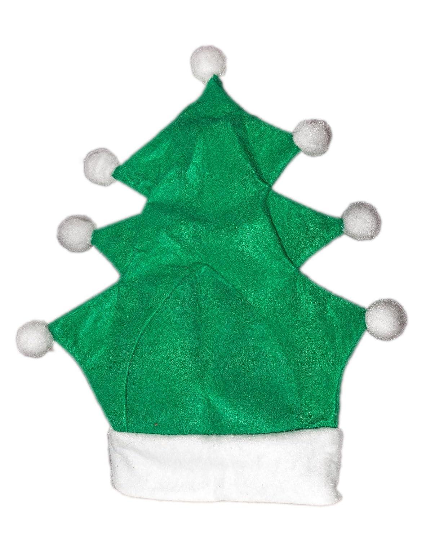 Weihnachtsmütze Nikolausmütze Grün Tannenbaum Weihnachtsbaum Mütze Nikolausmptze X45