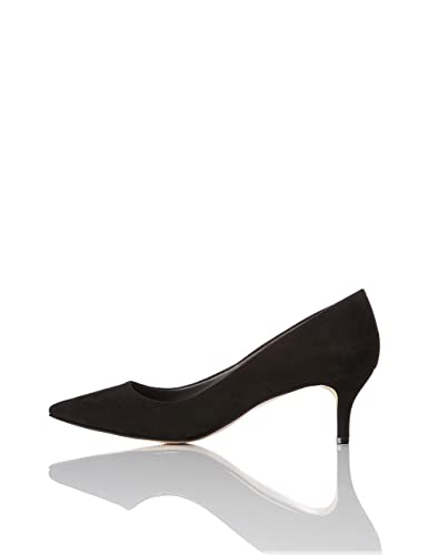FIND Damen Pumps mit Kitten-Heels