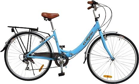 ECOSMO 26ALF08B - Bicicleta plegable: Amazon.es: Deportes y aire libre