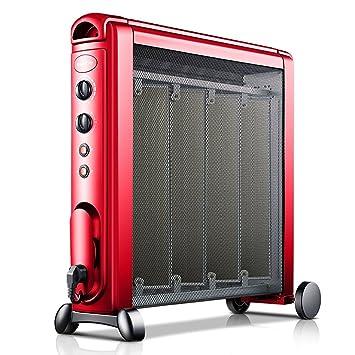 Calentador QFFL Aire Caliente Estufa de la Parrilla eléctrico silencioso 690 * 640mm Enfriamiento y calefacción (Color : B): Amazon.es: Hogar