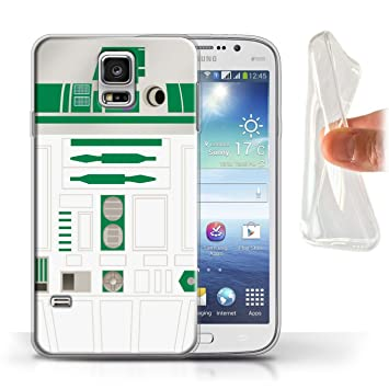 eSwish Carcasa/Funda TPU/Gel para el Samsung Galaxy S5 Neo ...