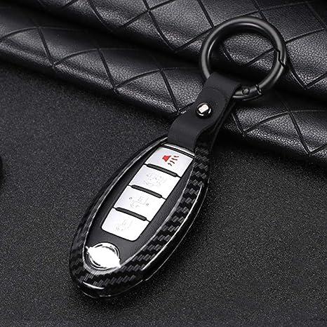 Amazon.com: ontto - Funda para llave de Nissan con llavero ...
