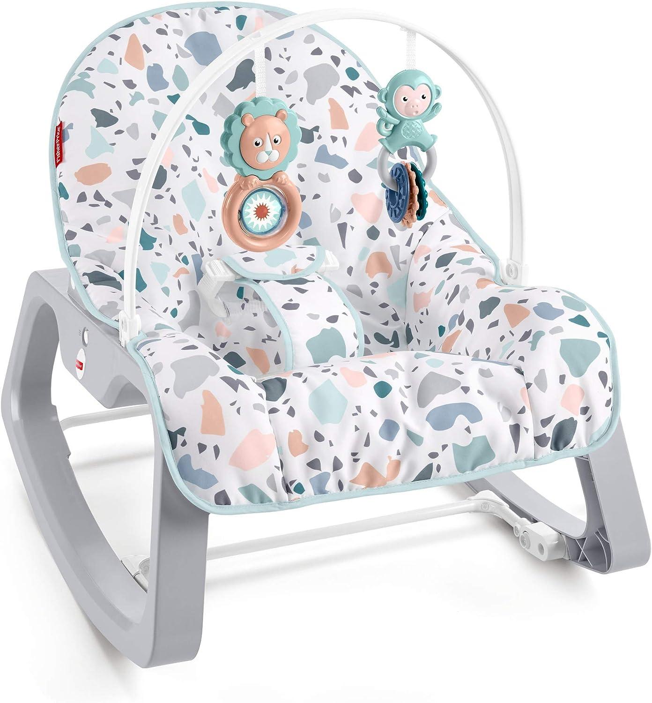 Fisher-Price Hamaca con Vibraciones relajantes (Mattel GWD39)