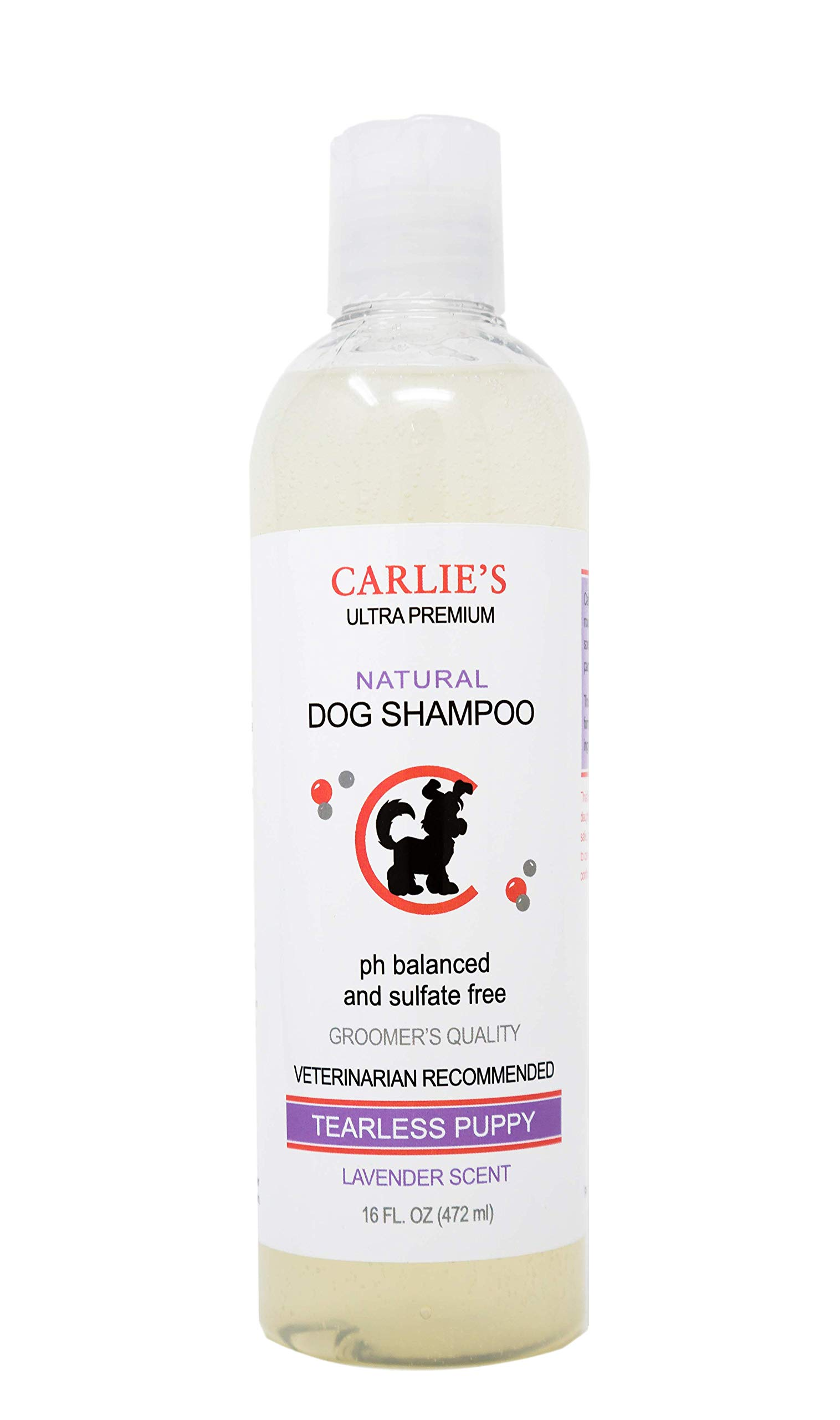 Scoochie Pets Dog Shampoo & Conditioner| Skin Soothing, Ph Balanced| Deodorizing, Moisturizing & Detangling Action| Hypoallergenic & Veterinarian Recommended Pet Grooming (Lavender - Puppy Special)