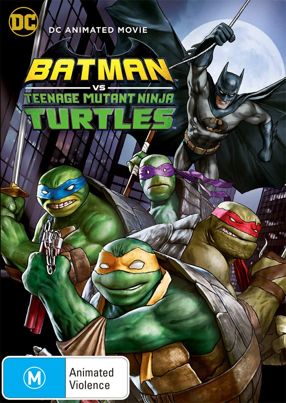Batman vs Teenage Mutant Ninja Turtles   DC Animated Movie   NON USA Format   Region 4 Import - Australia