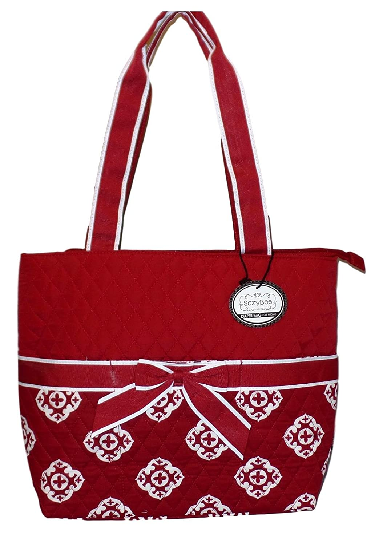 Toy Bag Diaper Bag Dots Tote Stripes Handmade Everything Bag Cars Go Bag Quilted Bag