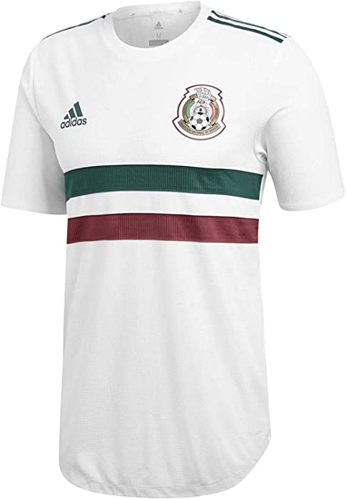 3efed1d49 Amazon.com  adidas Mexico 2018-2019 Away Authentic Jersey- White S ...