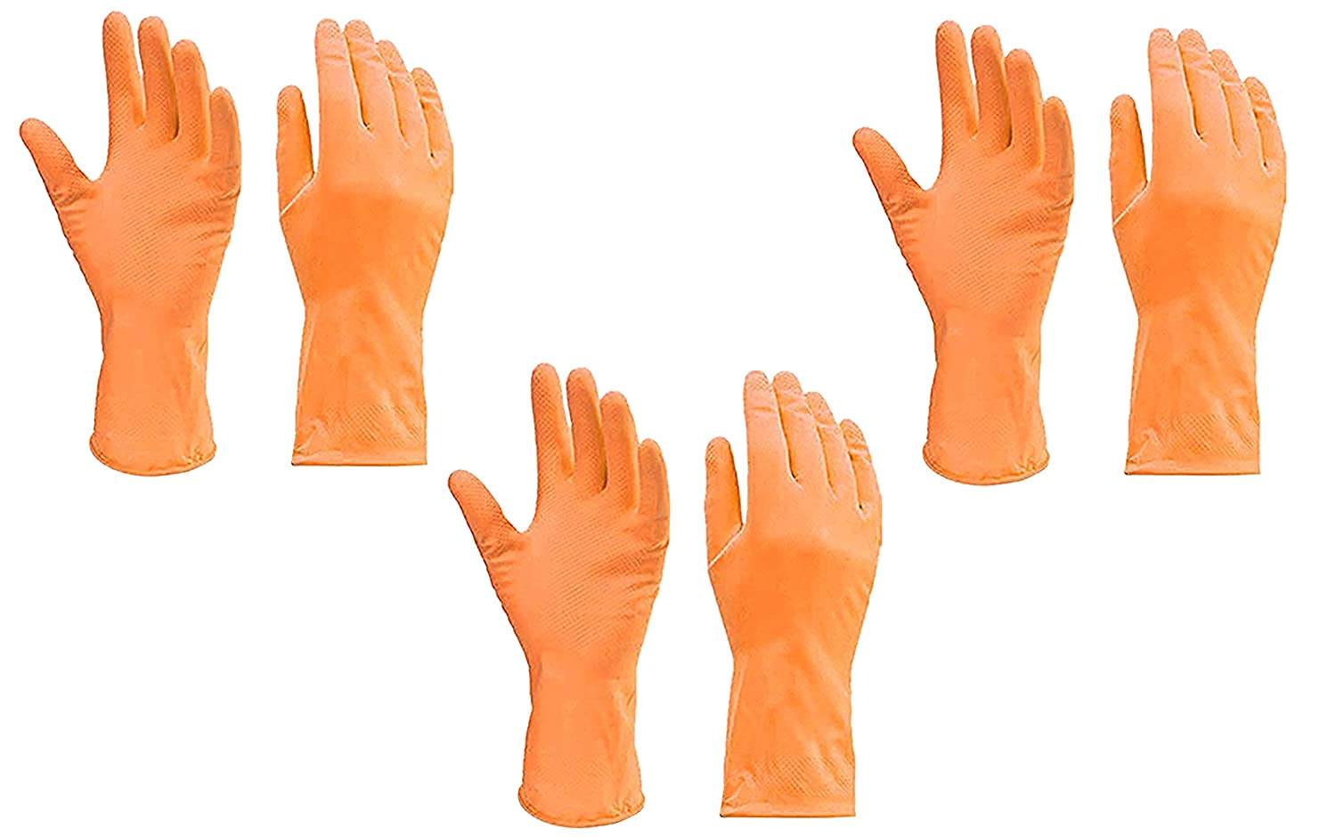wholesale sales best shoes affordable price EDEAL Reusable Rubber Hand Gloves Waterproof Household Latex Gloves for  Kitchen Cleaning, Dish Washing, and Sanitation,Gardening, Multipurpose use  ...