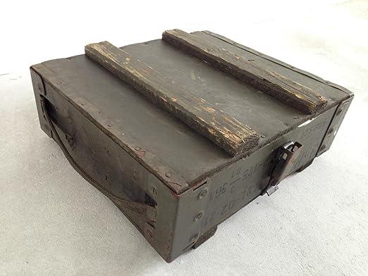 Munición Caja de ejército militar de almacenamiento Caja de ...