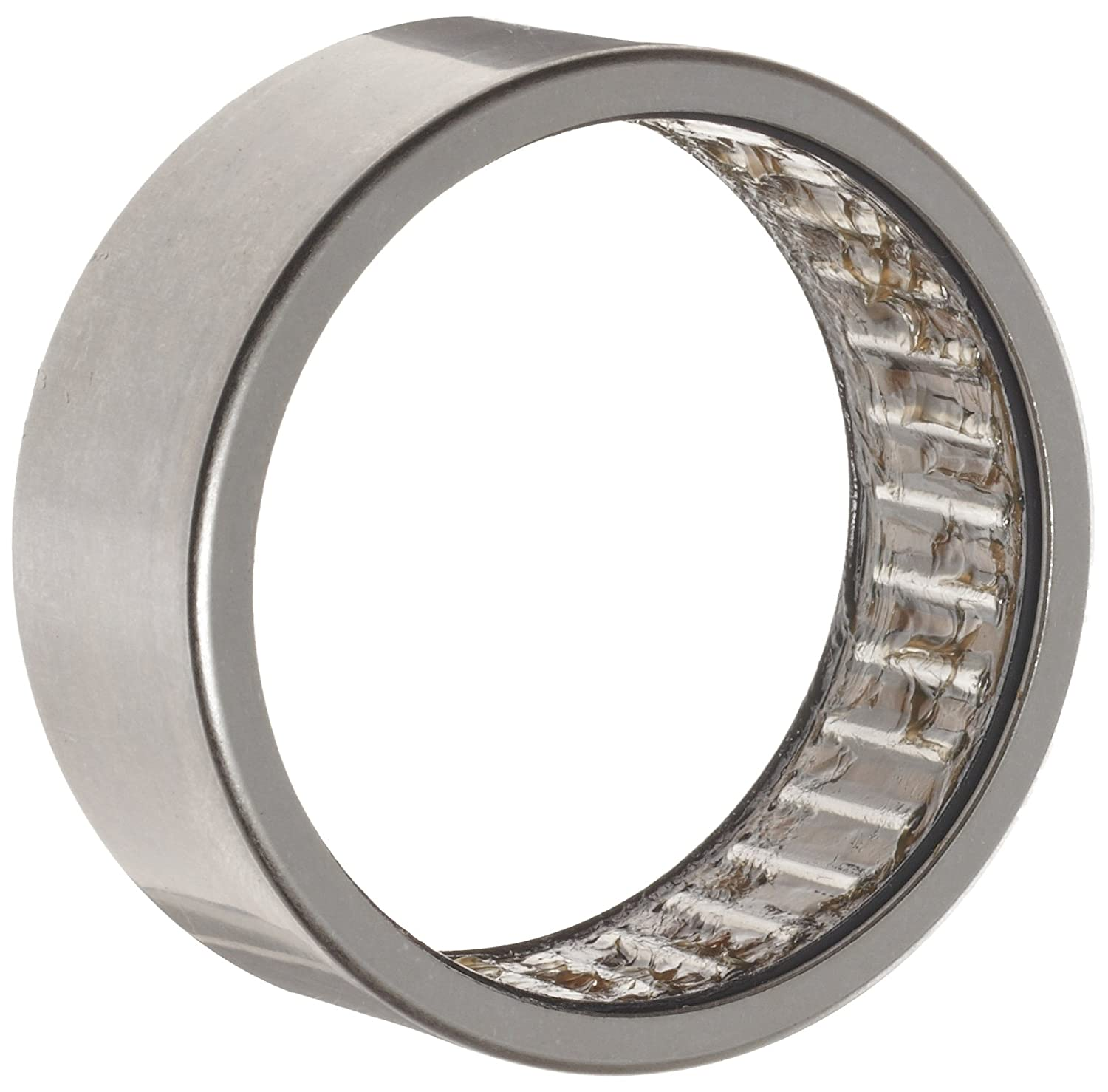 Outer Ring and Roller Caged Drawn Cup 32mm OD Double Sealed 30mm Width 7000rpm Maximum Rotational Speed Metric INA HK25302RS Needle Roller Bearing Steel Cage Open End 25mm ID