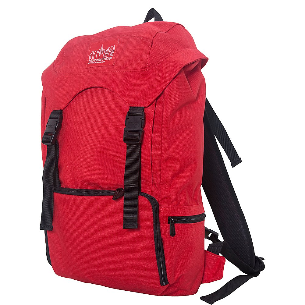 Black Manhattan Portage Hiker Backpack 3