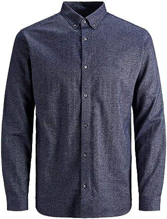Jack & Jones Jprlogo Twist Shirt L/S STS Camisa para Hombre: Amazon.es: Ropa y accesorios