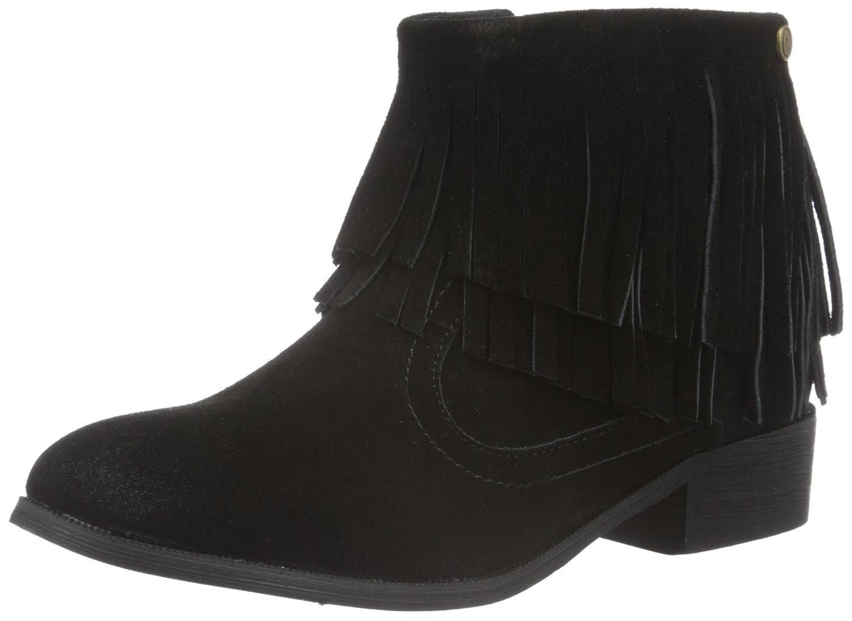 XTI 65228, Zapatillas de Estar por Casa para Mujer Negro (Black)