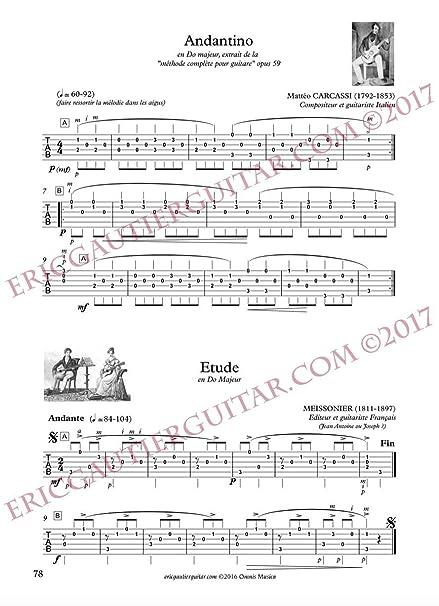 Partitions clásica Omnis Musica Gautier E. - Guitarra clásica. L ...