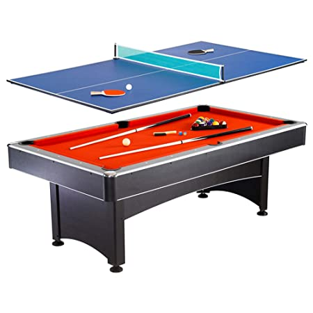 Amazoncom Hathaway Maverick Foot Pool And Table Tennis Multi - Billiards ping pong table