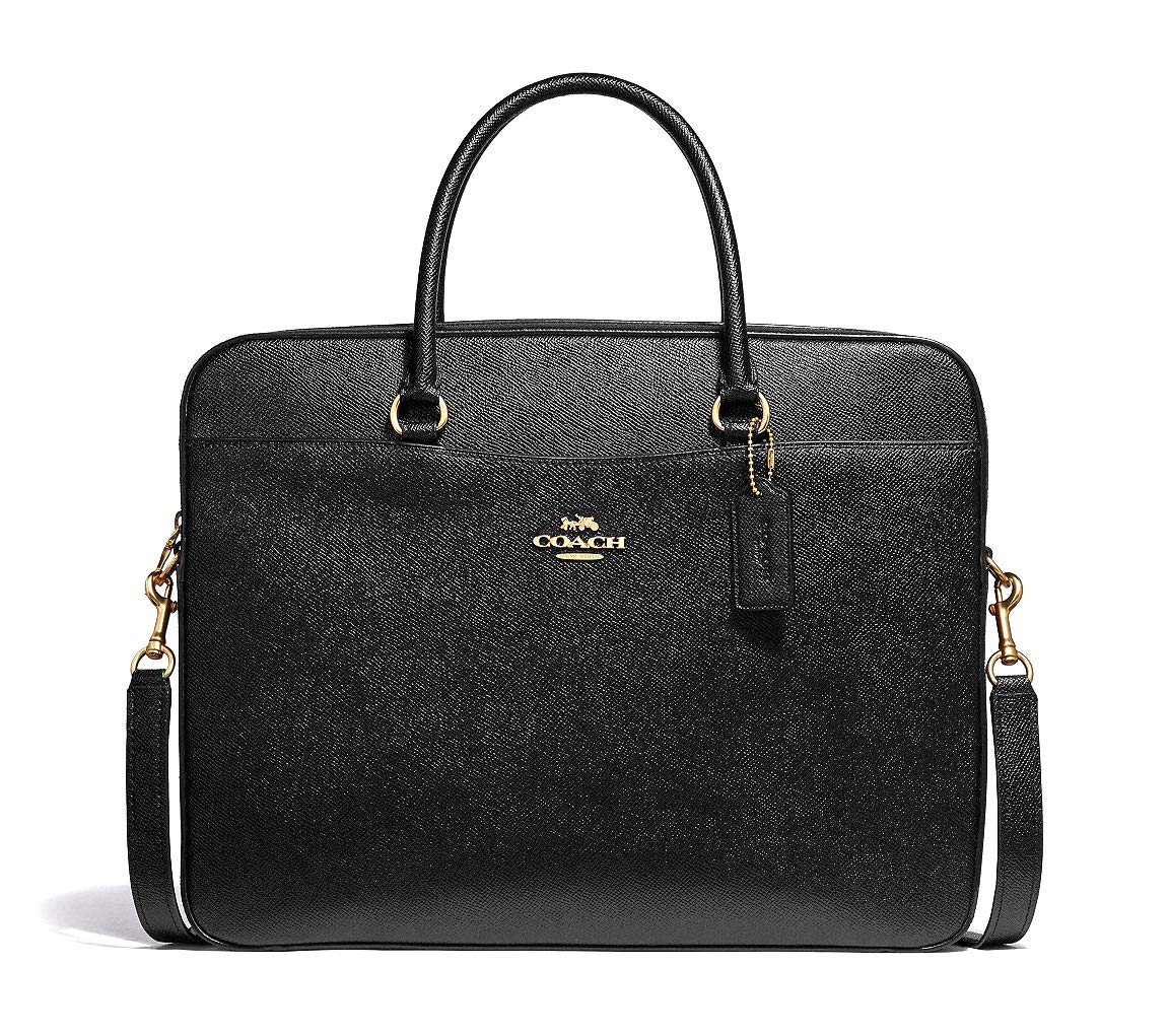 ee0f0b2c1f Amazon.com: COACH Laptop Bag (Black): Computers & Accessories