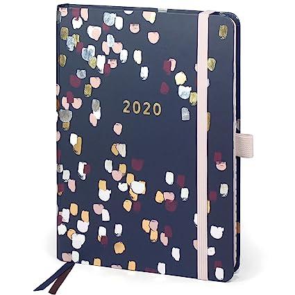 Perfect Year A5 Agenda 2020 de Boxclever Press. Planificador Semanal, Enero-Diciembre 2020. Con Separadores, Resumen Mensual, Páginas para Planificar. ...