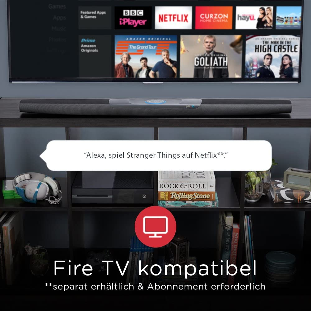 COMMAND BAR con Alexa integrada: Amazon.es: Electrónica