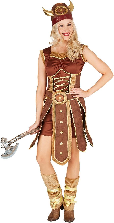 TecTake dressforfun Disfraz para Mujer Vikinga   Vestido con ...
