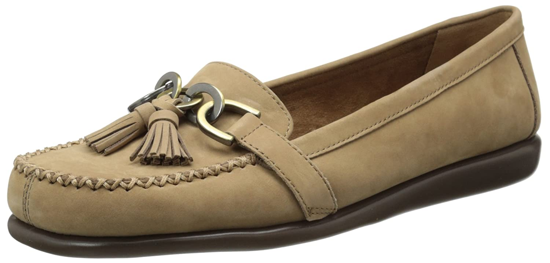 8c46e240b67b2 Amazon.com | Aerosoles Women's Super Soft, Taupe Nubuck, 12 M US | Loafers  & Slip-Ons
