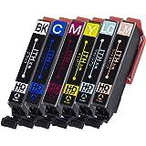 横トナ エプソン用 イチョウ互換 ITH-6CL互換インク 6色セット [対応機種] EP-709A / EP-711A / EP-810AB / EP-810AW / EP-811AB / EP-811AW