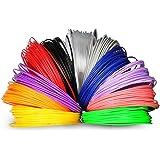 Soyan 3D Pen Filament Refill Pack, 12 Colors, 393.6 Feet, 1.75mm ABS Filaments