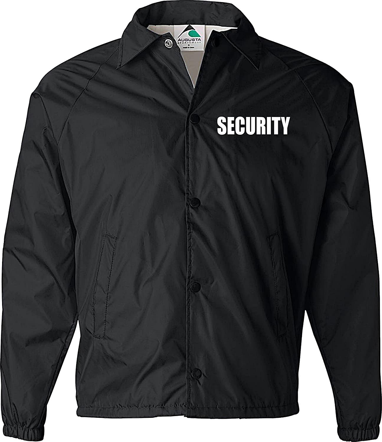 Security jacket, nylon, security guard jacket, law enforcement, windbreaker