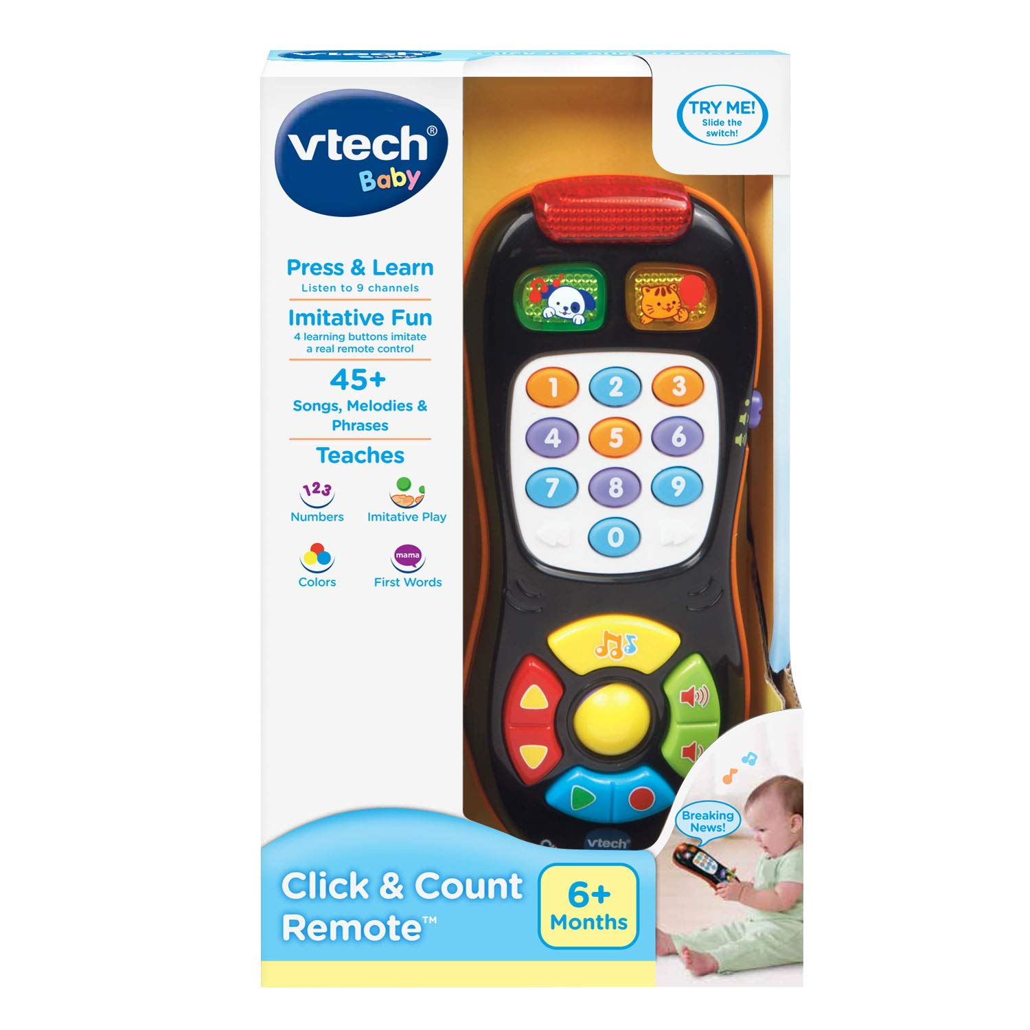 VTech Click and Count Remote, Black by VTech (Image #5)