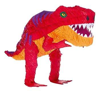 Amscan Figurine en papier-mâché Dinosaure T-Rex: Amazon.fr: Jeux et ...
