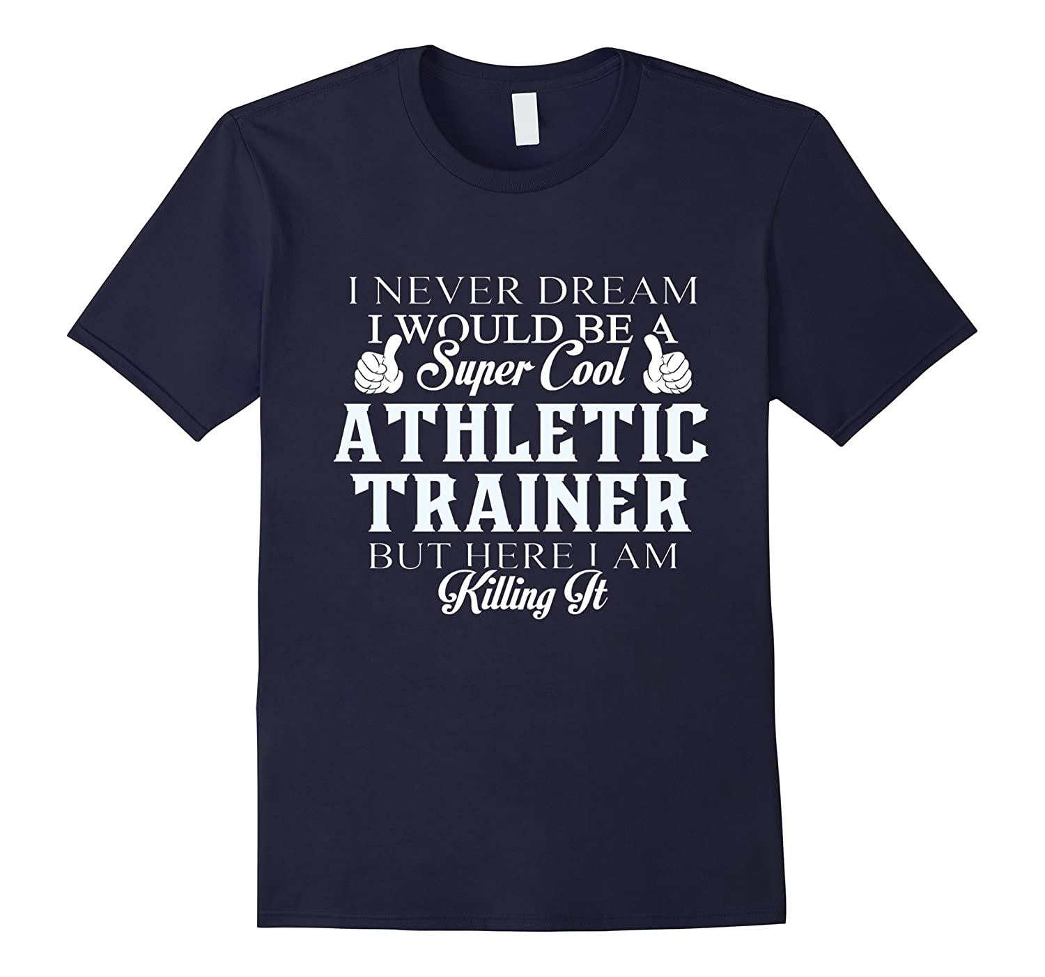 Dreamed would super cool Athletic trainer killing it-TH