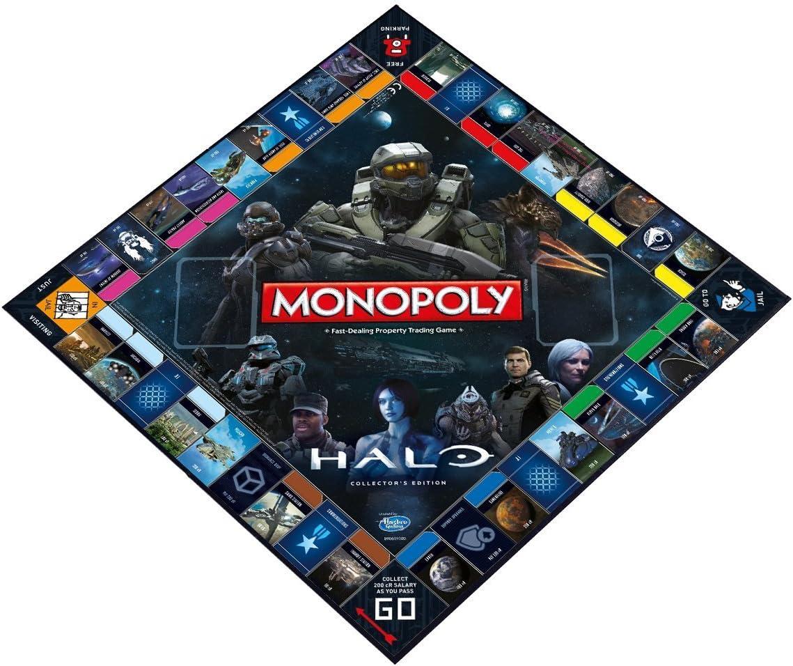 Monopoly: Halo Collectors Edition GameStop Exclusive by Monopoly: Amazon.es: Juguetes y juegos