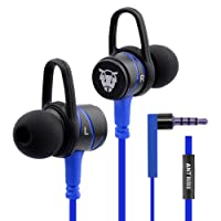Ant Audio W56 Wired Metal in Ear Stereo Bass Headphone (Blue)