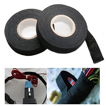 Icyang 2 Roll Adhesive Wiring Harness Cotton Cloth Adhesive Fabric