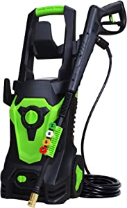 PowRyte Elite 1800 Watt 15A Electric Pressure Washer,Power Washer,Spray Washer with 4 Spray Tips and Powerful Motor - 4500PSI 3.5GPM