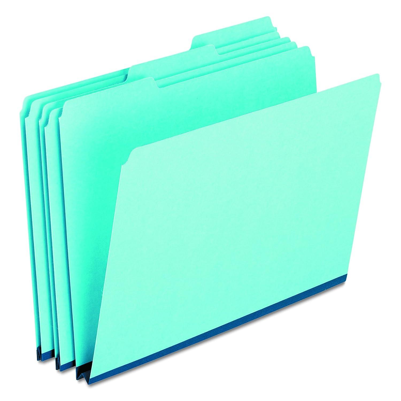 Pressboard Expanding File Folders, 1/3 Cut Top Tab, Legal, Blue, 25/Box (並行輸入品) B000TRV2A6