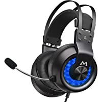 EG3 Pro Gaming Headset, 3D Bass Surround Sound, PS4 PC Computer Headset with Noise…