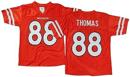 Amazon.com   Outerstuff Demaryius Thomas Denver Broncos Orange Youth ... b0fa9a038